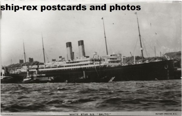 BALTIC (1904, White Star Line) photo